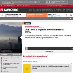 Chili : état d'urgence environnemental