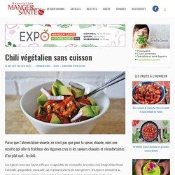 Chili végétalien sans cuisson
