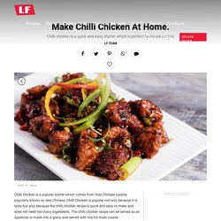 Chilli Chicken Gravy Recipe