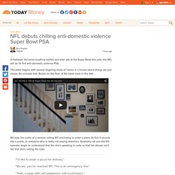 NFL debuts chilling anti-domestic violence Super Bowl PSA - Money