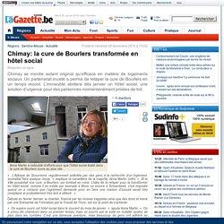 Nov.2014 - Chimay: la cure de Bourlers transformée en hôtel social