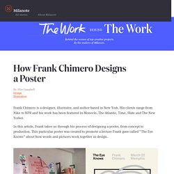 How Frank Chimero Designs aPoster