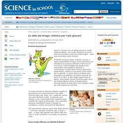 Lo stile del drago: chimica per i più giovani