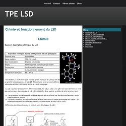 Chimie et fonctionnement du LSD
