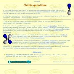 Chimie quantique