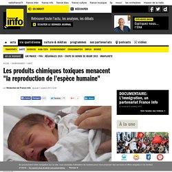 """Les produits chimiques toxiques menacent """"la reproduction de l'espèce humaine"""""""