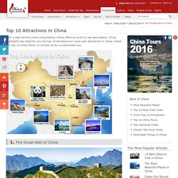 China's Top Ten Attractions, 10 Must-visit Sights in China