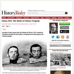 China 1911: The Birth of China's Tragedy