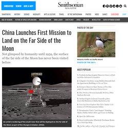 Il cinese Chang'e-4 atterra sul lato opposto della luna