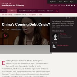 China's Coming Debt Crisis?