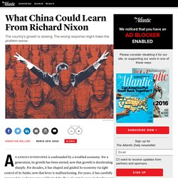 What China Could Learn From Richard Nixon