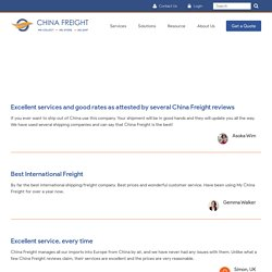 China Freight review