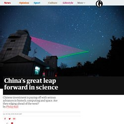 China's great leap forward in science