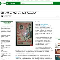 Who Were China's Red Guards? - Asian History