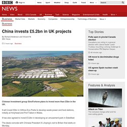 China invests £5.2bn in UK projects - BBC News