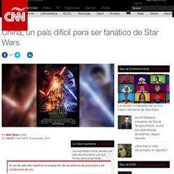 "CNN ""China, un país difícil para ser fanático de Star Wars"" 1512"