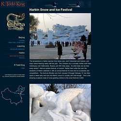 R Todd King: China Photos 2003 - Northeast Winter - StumbleUpon
