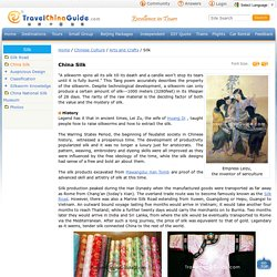China Silk: Products, Cloth, Brocade, Crape, Buying Tips
