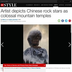 China's rock gods imagined as huge temples