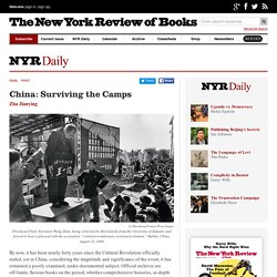 China: Surviving the Camps by Zha Jianying