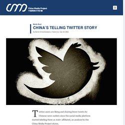 China's Telling Twitter Story