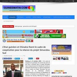 L'Etat guinéen et Chinalco fixent le cadre de coopération pour la relance du projet Simandou Sud