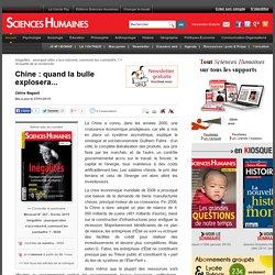 Chine : quand la bulle explosera...