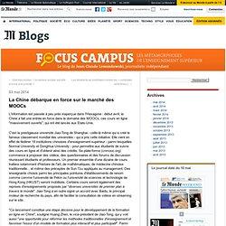 La Chine débarque en force sur le marché des MOOCs