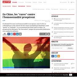 """En Chine, les """"cures"""" contre l'homosexualité prospèrent"""