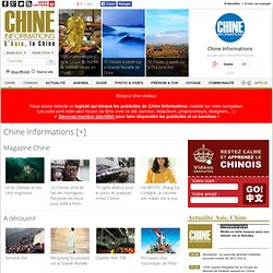 Chine Informations | L'Asie, la Chine