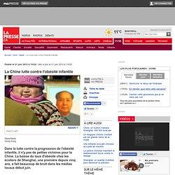 La Chine lutte contre l'obésité infantile