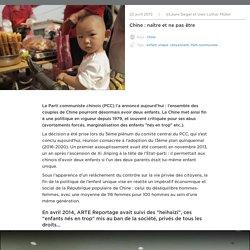 Chine : naître et ne pas être