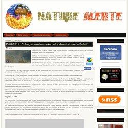 13/07/2011...Chine, Nouvelle marée noire dans la baie de Bohaï
