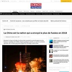 Chine : rivalité spatiale avec les Etats-Unis