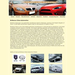 Brilliance China Automotive