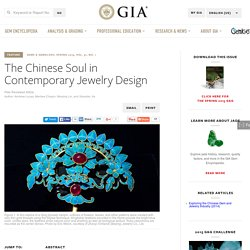 The Chinese Soul in Contemporary Jewelry Design
