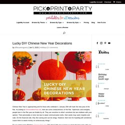 Lucky DIY Chinese New Year Decorations