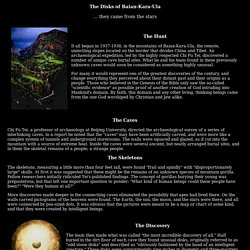 The Chinese Disks of Baian-Kara-Ula, UFO Casebook Files