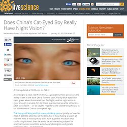 Is the Blue-Eyed Chinese Boy the Next Step In Human Evolution?