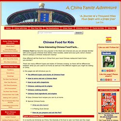 Chinese Food for Kids