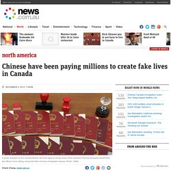 Chinese Canada immigration scam: Xun Wang helped wealthy create fake lives