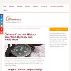 Chinese Compass History: Invention, Dynasty and Navigation