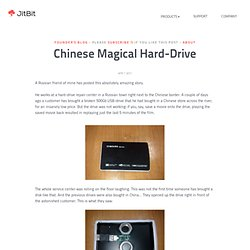 Founders Blog - Jitbit: Chinese Magical Hard-Drive