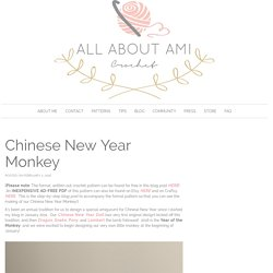 Chinese New Year Monkey - All About Ami