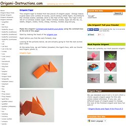 origami orchid blossom instructions