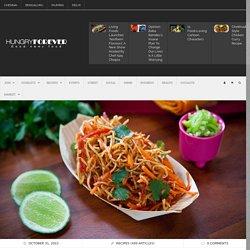 Mumbai Vegetarian Crispy Noodle Salad