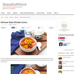 Chinese-Style Chicken Curry