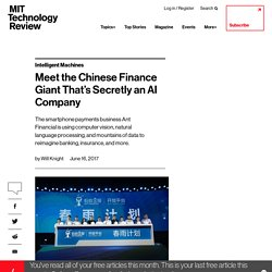 Ant's AI Insurance Assessor Learns From Peers