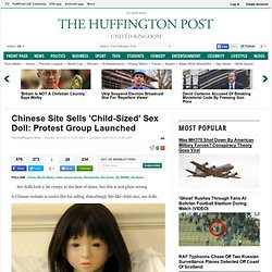 Chinese Site Sells 'Child-Sized' Sex Doll: Protest Group Launched