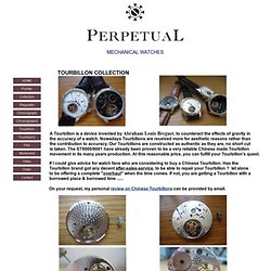 Good Chinese Tourbillon / Direct From Hong Kong Workshop/ US$960